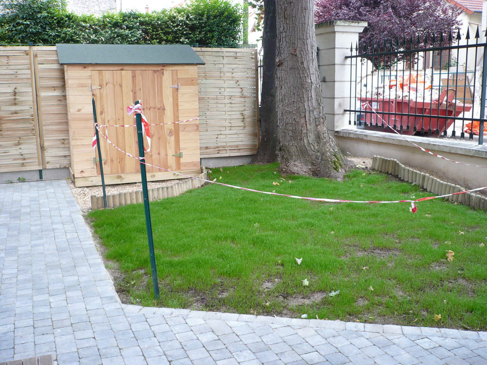 Am nagement jardin ext rieur en ile de france le d corateur for Ammenagement jardin