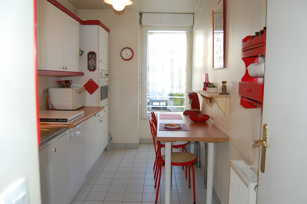 Cuisine home staging apres l'intervention du décorateur